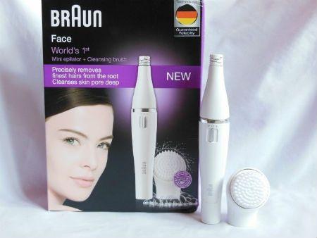 Braun FaceSpa 810 caja