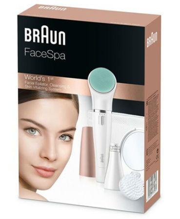 Braun FaceSpa 851v Caja
