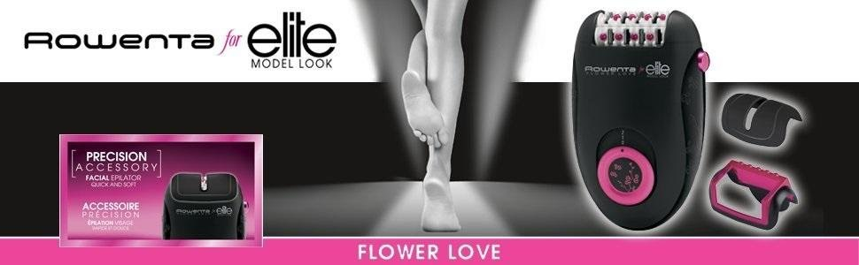 Depiladora Rowenta Flower Love EP2832F0 8