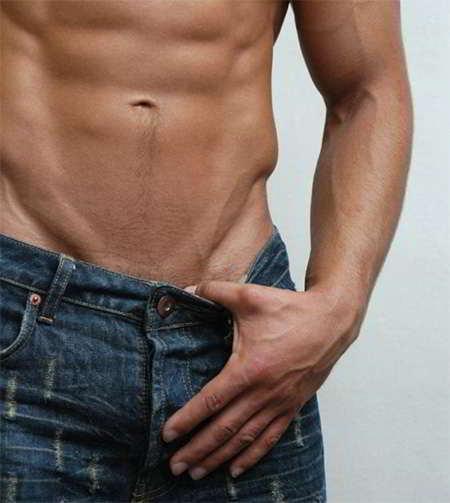 como depilar la zona intima masculina