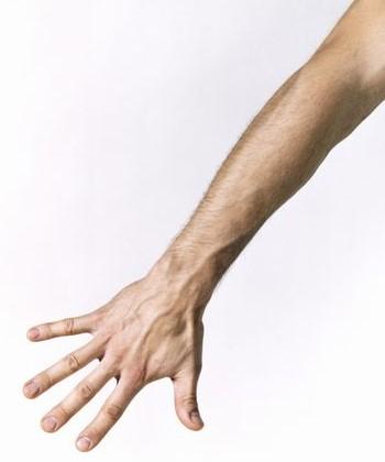 Como depilarse los brazos hombre