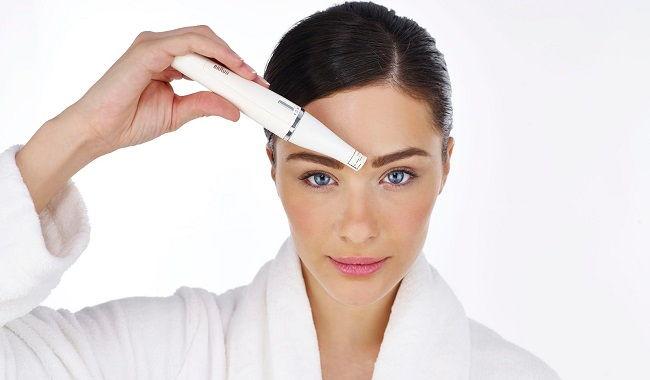 como depilar la cara con depiladora facial