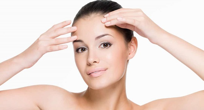 como depilar la frente facil