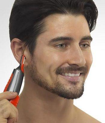 como depilar las orejas recortadora