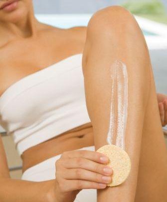 como depilarse con cremas