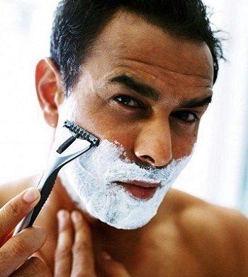 depilar barba cuchilla