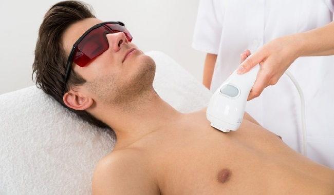depilar pecho laser
