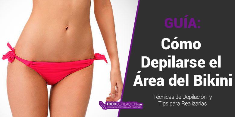 Cómo Depilarse el Área del Bikini