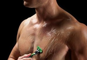 depilación cuchillas para hombres