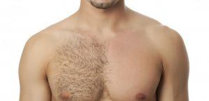 pecho depilado
