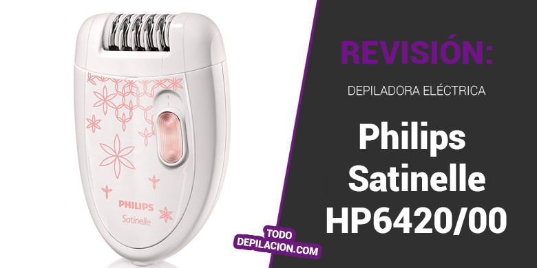 Depiladora Philips HP6420