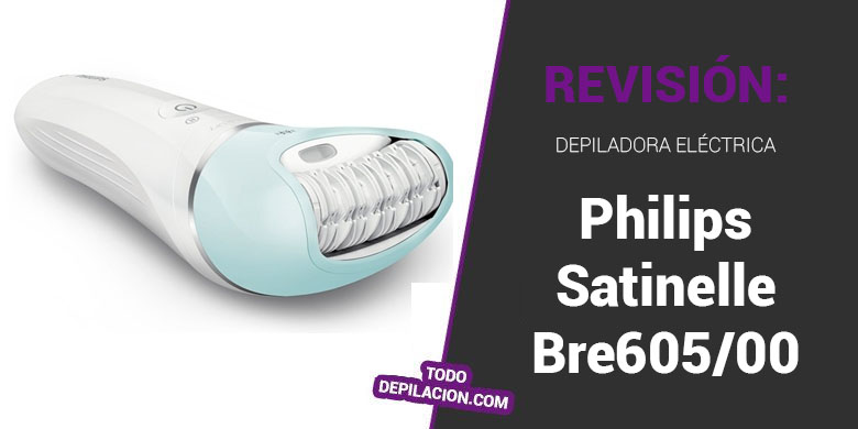 Depiladora Philips Satinelle Bre605/00